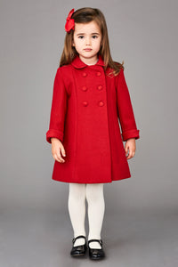 RED HOLBEIN OVERCOAT