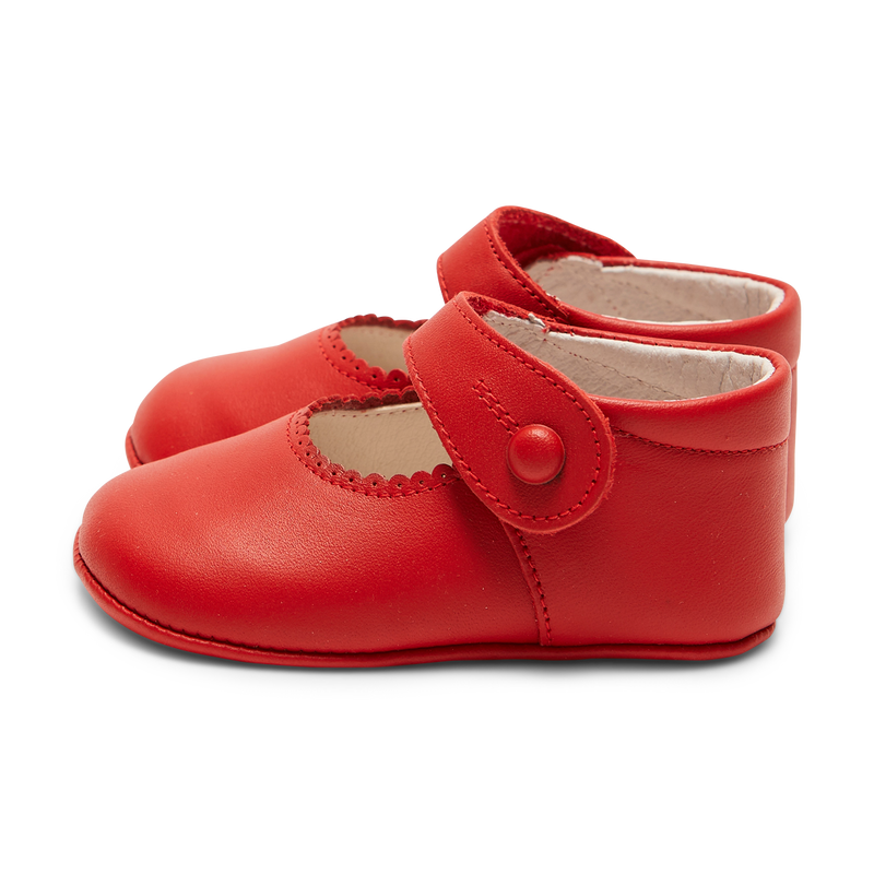 LUCA & LUCA red pram shoes