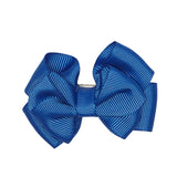 ROYAL BLUE LARGE BOW