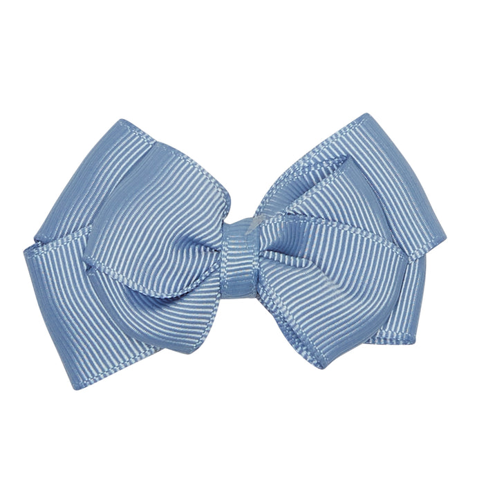 DUSTY BLUE LARGE BOW