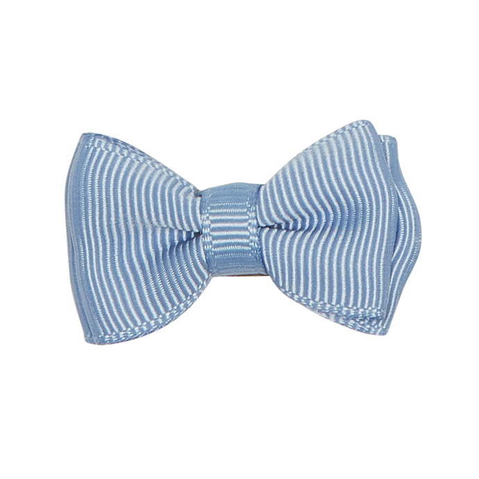DUSTY BLUE MEDIUM  BOW