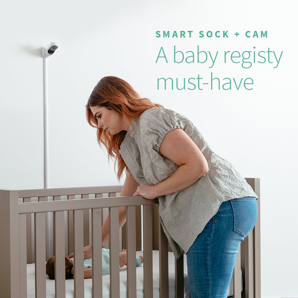 10 Reasons Why the Smart Sock + Cam is a MUST for your baby registry