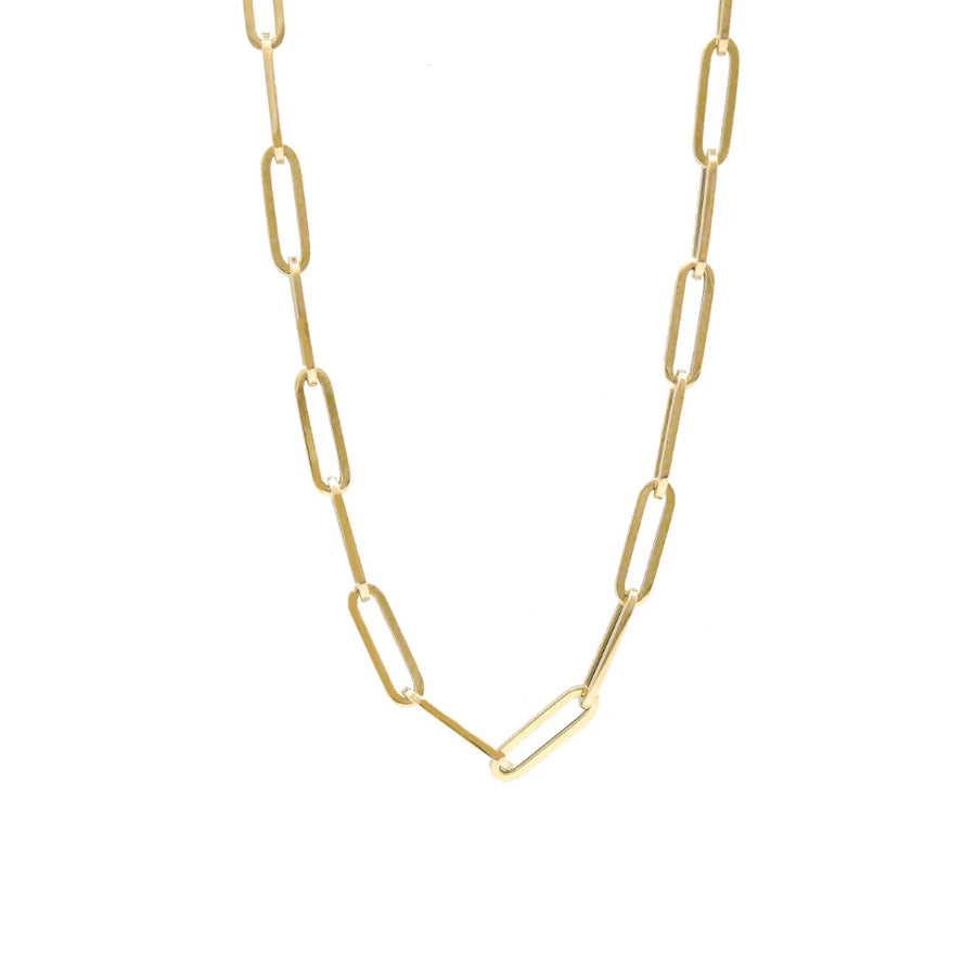 Gold Medium Link Chain