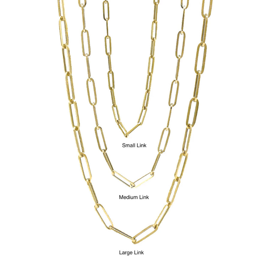 Gold Small Link Chain