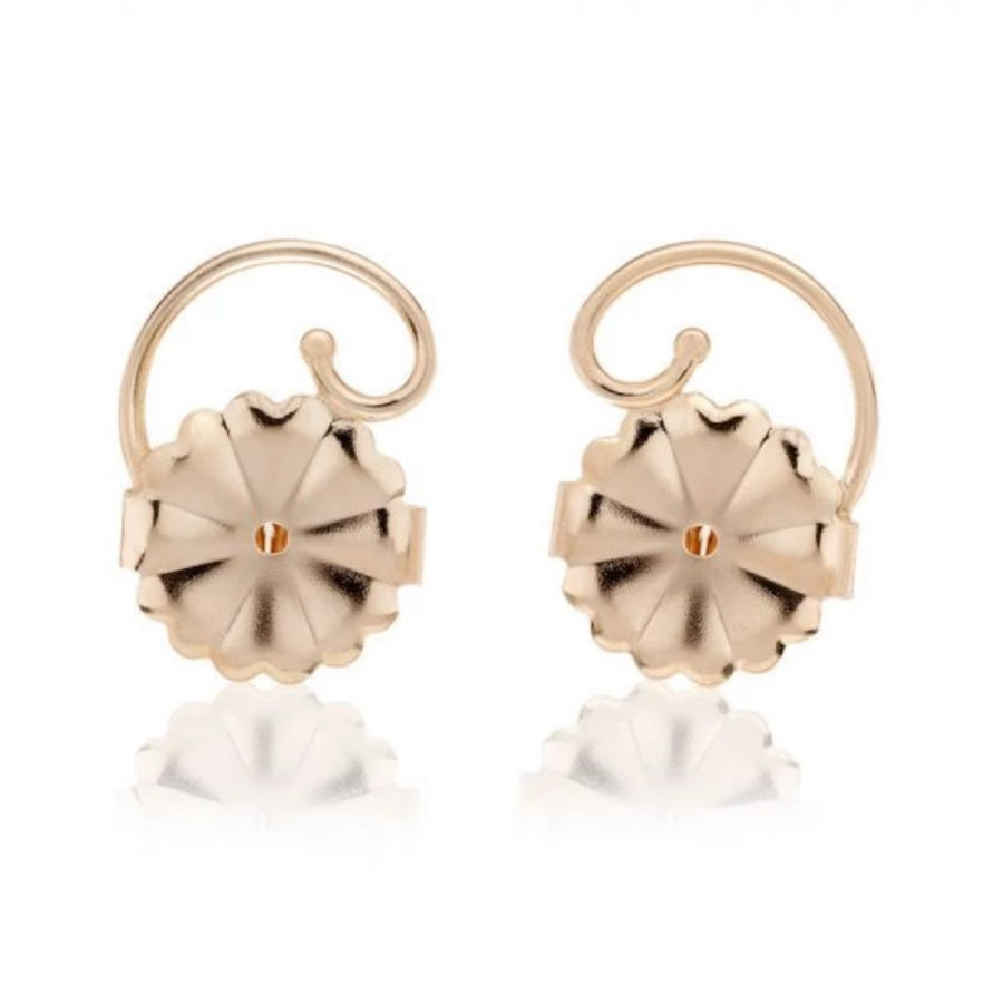 Gold Plated Silver Earring Backs - Levears