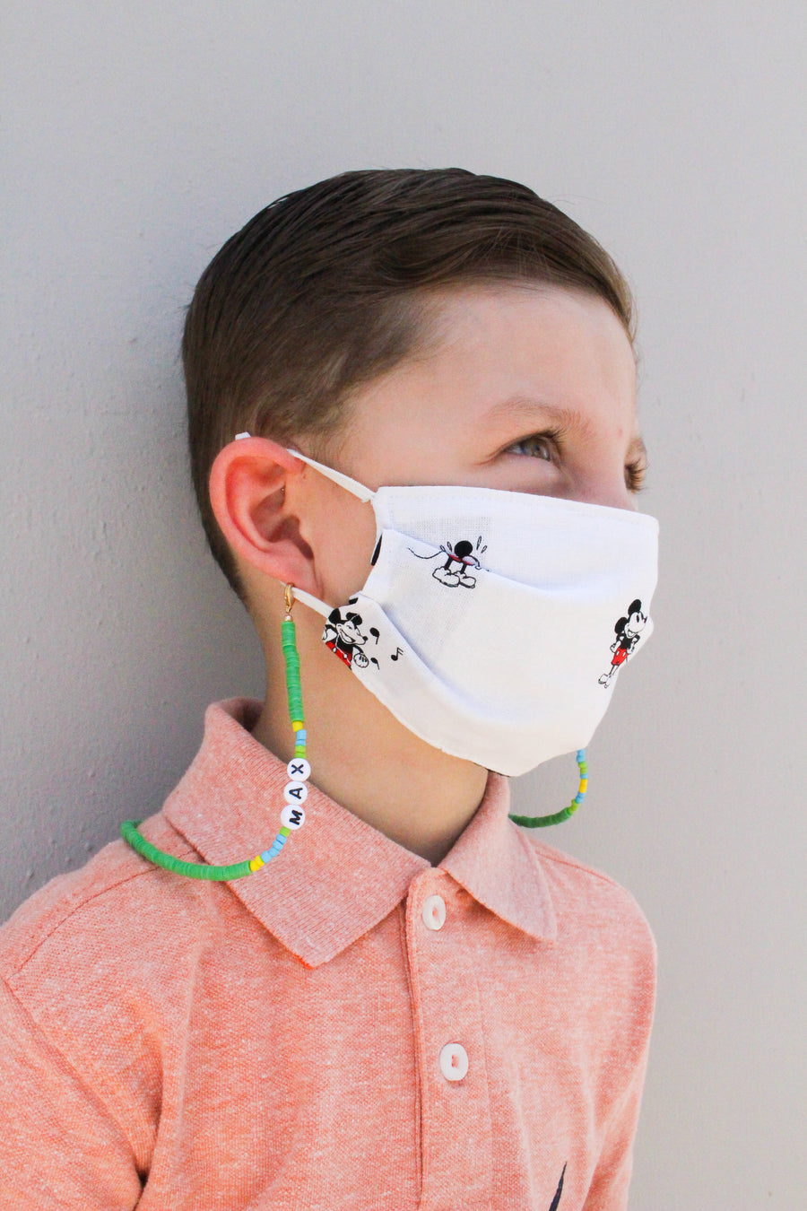Kid's Beaded Mask Holders
