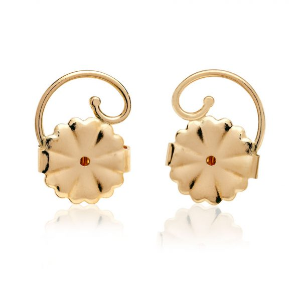 14KT Yellow Gold Earring Backs - Levears