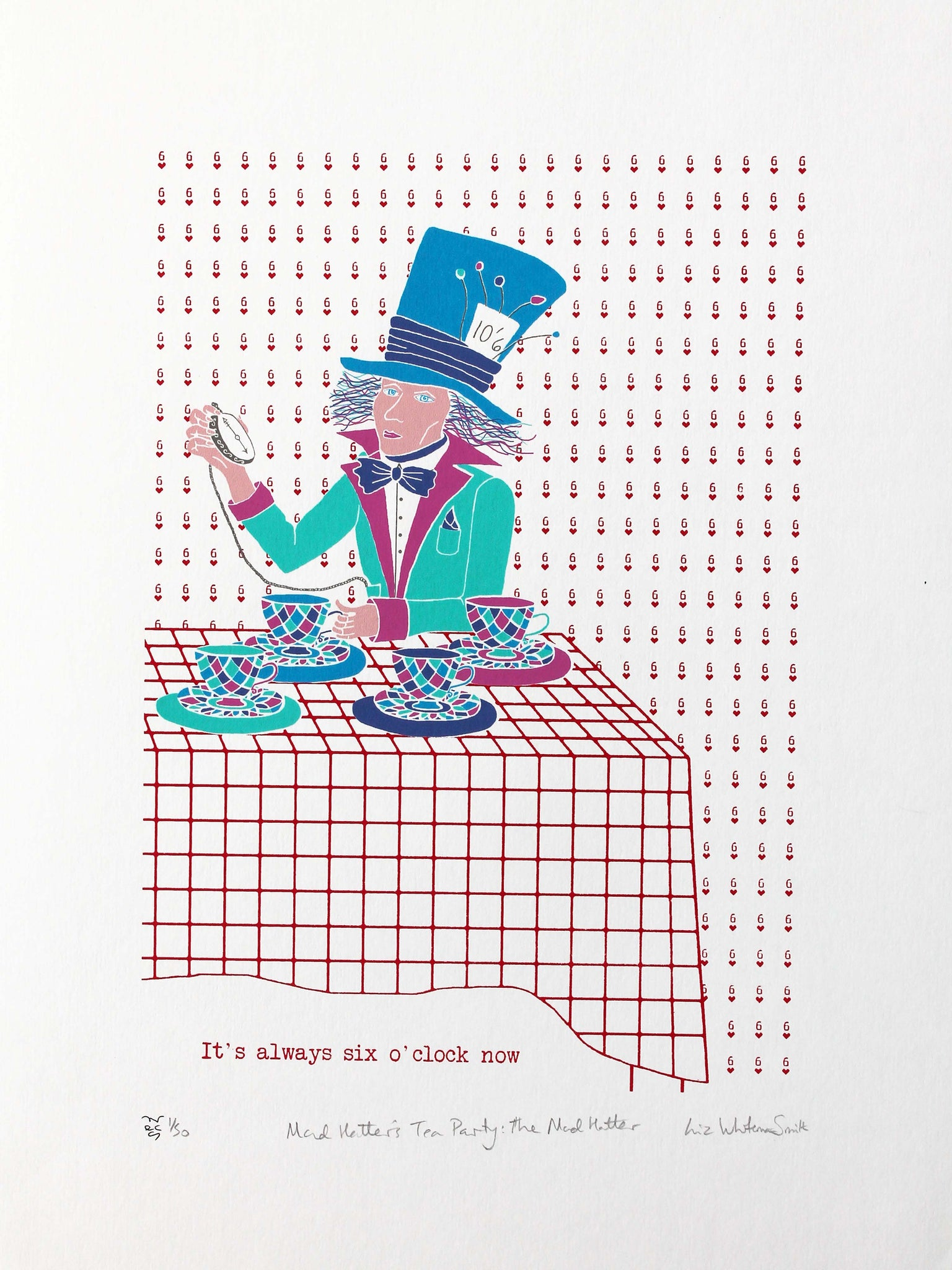 Mad Hatter's tea party: Mad Hatter
