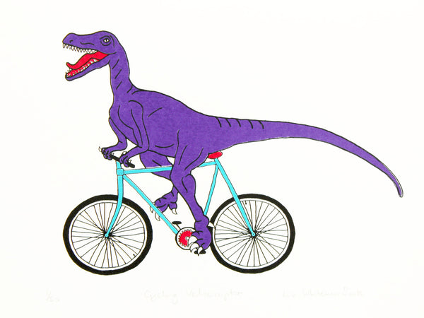 Cycling Velociraptor