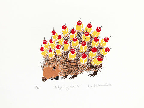 Hedgehog waiter