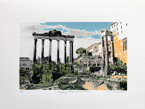 Temple of Saturn, Forum, Rome