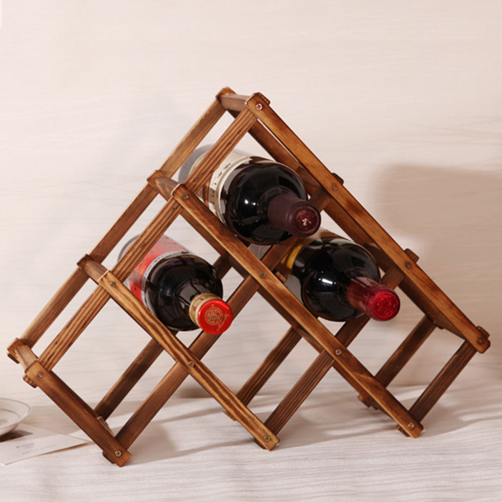 Wood wine support (model 2)