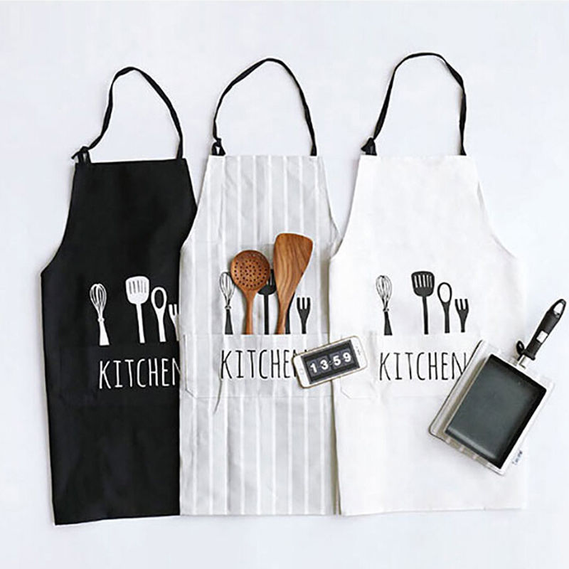 Cotton Kitchen Aprons - Kitchen design