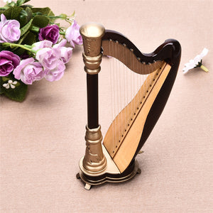 Desk Decor- Musical ornament ( Harp)