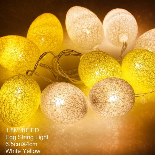 Easter light eggs