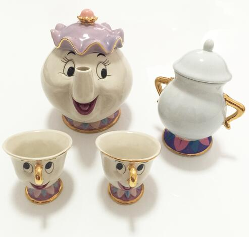 Beauty And The Beast -Tea Set