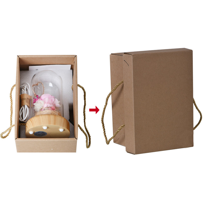 WR Bluetooth Speaker Lighter rose case - Beauty and the Beast design