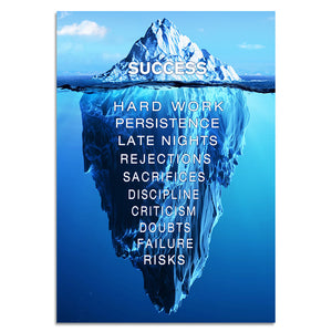 Futuristic Painting Motivational - Success model