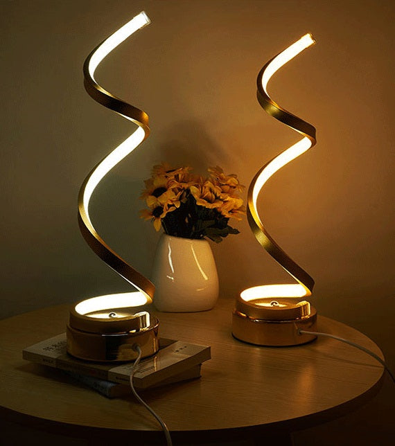 Futuristic Desk Lamp (Spiral Model) - Eyes protection