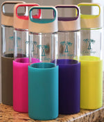 Cari Slings Glass Water Bottles
