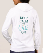 Keep Calm Cari On Sweaters