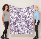 Time and Space with Martha Fleece Blankets