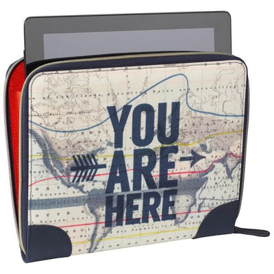 You Are Here Tablet Case