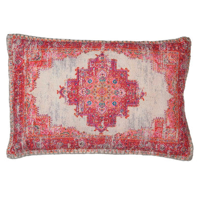 Red Pattern Cushion