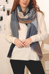 Navy Blue Scarf by Miss Shorthair
