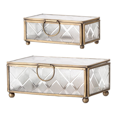 Set of Two Jewellery Boxes by Bloomingville