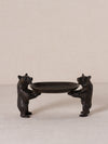 Antique Bronze Bears Trays