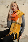 Mustard & Orange Scarf by Miss Shorthair