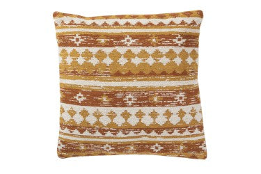 Ethnic Ochre Cushion