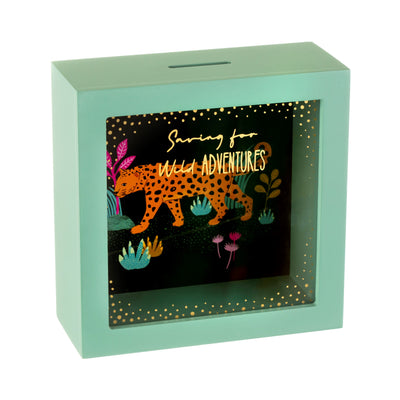 Leopard Love Money Box