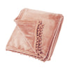 Cashmere Touch Fleece in Blush Pink