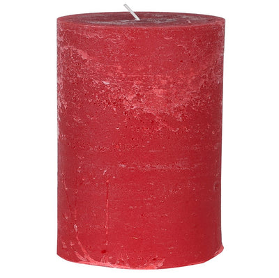 Rustic Red Candle (Two sizes)