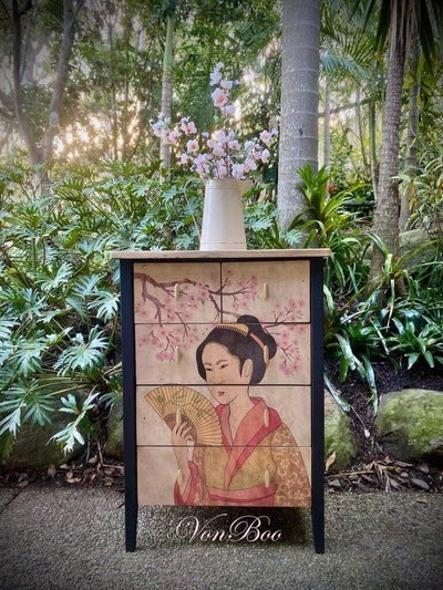 Geisha by Mint Decoupage Paper