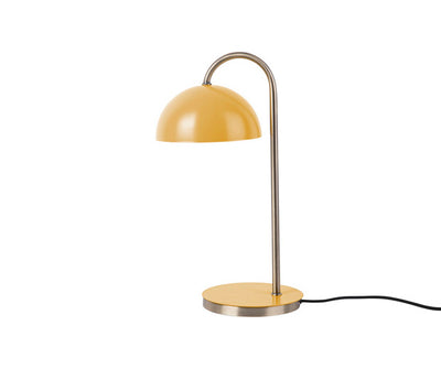 Domed Ochre Table Lamp