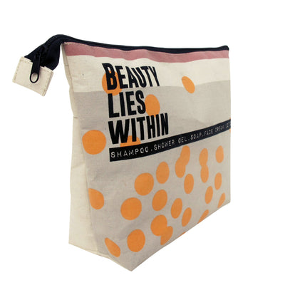 Beauty Lies Within Toiletry Bag