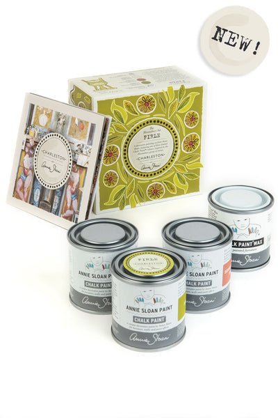 Annie Sloan with Charleston Firle Decorative Paint Set