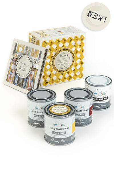 Annie Sloan with Charleston Tilton Decorative Paint Set