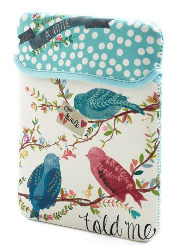 A Little Birdie Tablet Case