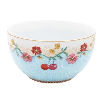 Pip Studio Cherry Bowl Blue
