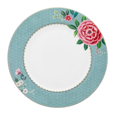 Blushing Birds Blue Dinner Plate by Pip Studio