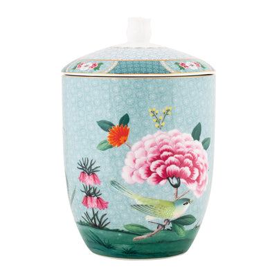 Blushing Birds Blue Storage Jar by Pip Studio