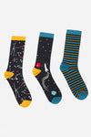 Men's Constellation Bamboo Sock Giftset