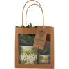 Gift bag with Two Jungle Print Succulents