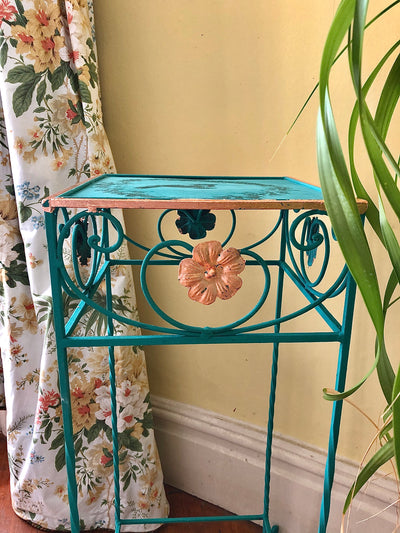 Ornate Metal Plant Stand