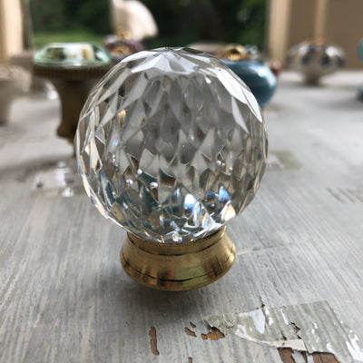 Rounded Glass Door Knob