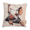 Piggies Cushion by Annabel Langrish